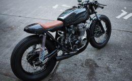 une moto légère