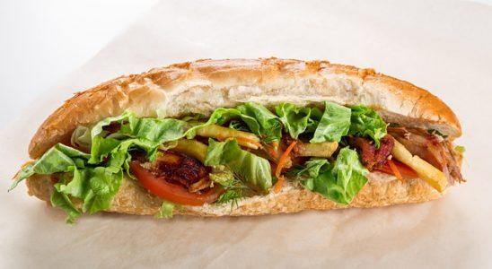 sandwich hot dog