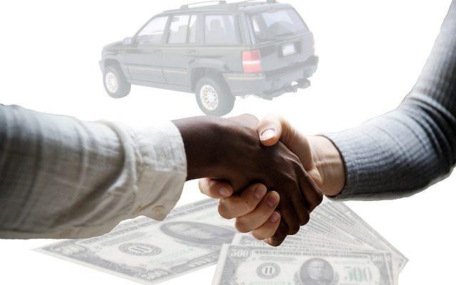 courtier automobile transaction