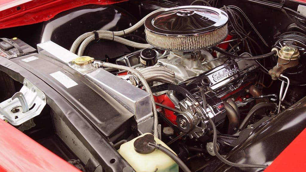 Filtre à air d'une voiture performance du moteur